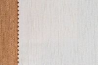 White and brown fabric texture