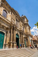 Bolivia, La Paz Region, La Paz - Bolivia, Murillo Square, View of Metropolitan Cathedral.