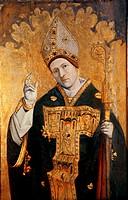 Saint Siffredus of Carpentras, Provencal school, c.1460-70 (tempera on panel), French School, (15th century) / Musee du Petit Palais, Avignon, France ...