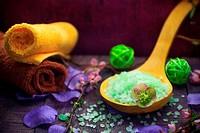 Elements spa treatments including salt bath