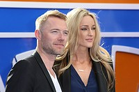 Ronan Keating,Storm Uechtritz at the Tomorrowland: A World Beyond European premiere, London, Britain.