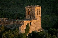 Ruins of an abandoned village in the Spanish Pyrenees.