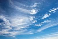 Cirrus clouds.