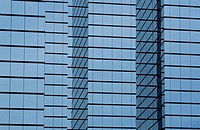 modern office building with glass exterior