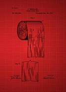Toilet Paper Roll Patent 1891