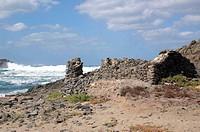 derelict ruins