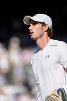 30.06.2015. The Wimbledon Tennis Championships 2015 held at The All England Lawn Tennis and Croquet Club, London, England, UK.   Andy MURRAY (GBR) [3]...
