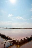 Salt and sun in Pomorie