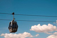 Cable car running