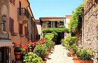 Typical San Marino street