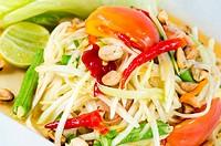 Papaya Salad, Thai call Som tum