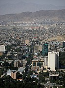 (150715) -- KABUL, July 15, 2015 () -- Photo taken on July 15, 2015 shows a view of Kabul city seen from a mountain in Kabul, Afghanistan. The Taliban...