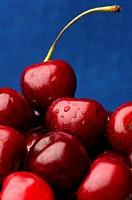 Heap of cherries