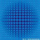 Illusive blue background
