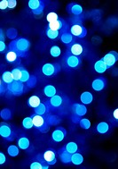 abstract blue lights