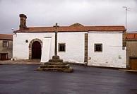 Ermita de San Bartolomé en Zarza la Mayor. Cáceres. Extremadura. España