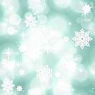 Vintage winter seamless background