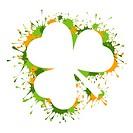 St Patrick Day frame