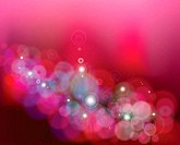 Abstract pink background with stars. Vector