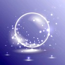 Glossy ball illustration
