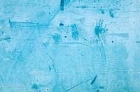 Rusty grunge blue background