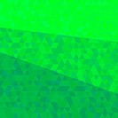 Abstract green triangular background