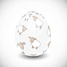 Beautiful Easter Egg Vector Illustration