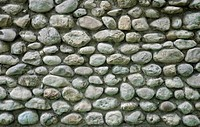 Textured stone wall. Close up