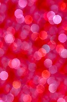 defocused abstract bright red and white lights background