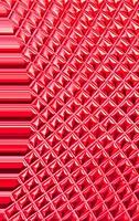 red tile background