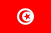 The national flag of Tunisia