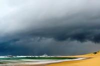 Storm at sea. Mabibi. Maputaland. KwaZulu Natal. South Africa.
