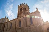 Church of Vallbona de les Monges cistercian women´s monastery Catalonia