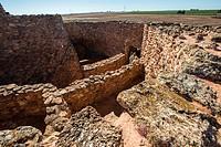 Motilla del Azuer archaeological site, Daimiel, Ciudad Real province, Spain