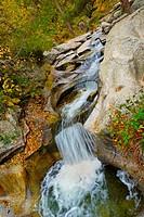 Boca del Asno, Recreational; Space, Eresma River, Valsain Forest, Guadarrama National Park, Segovia, Castilla y León, Spain, Europe.