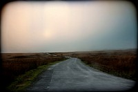 Carretera, landscape, atmosfera, Road, landscape, atmosphere.