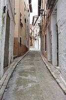 Street in Ontinyent, Valencia Province, Spain