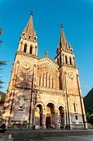 Basilica of Santa Maria la Real, Covadonga, Cangas de Onis, Asturias, Spain