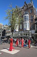 Netherlands, Amsterdam, street scene