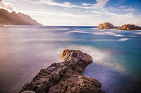 View of Taganana coast. North Tenerife island, Canary Islands, Spain