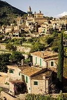 Cartuja , Valldemossa, Sierra de Tramuntana, Mallorca, Balearic Islands, spain, europe.