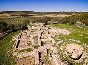 Son Fornés, archaeological site of prehistoric era, built in the Talayotic period, 10th century BC, Montuiri, Mallorca island, Balearic Islands, Spain...