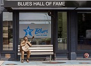 Blues Hall of Fame, downtown Memphis, Tennessee, USA.