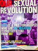 San Francisco, CA, USA, HIV AIDS Prevention Poster, PrEP, Pre-Exposure Prophylaxis.