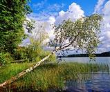 Poland Suwalski region. Serwy Lake