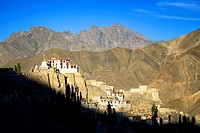 India, Jammu and Kashmir State, Himalaya, Ladakh, Indus valley, Buddhist monastery of Lamayuru (Yungdrung)