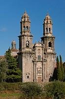 Cistercian monastery of Santa Maria (10th century), Sobrado, La Coruña province, Region of Galicia, Spain, Europe.