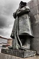 Emanuele Filiberto Duca d'Aosta Monument, Turin, Piedmont, Italy.