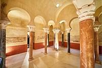 Ancient Moorish Baths, Cordoba, Andalusia, Spain, Europe.
