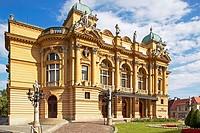 Stowacki Theater in Krakow, Poland, Europe.